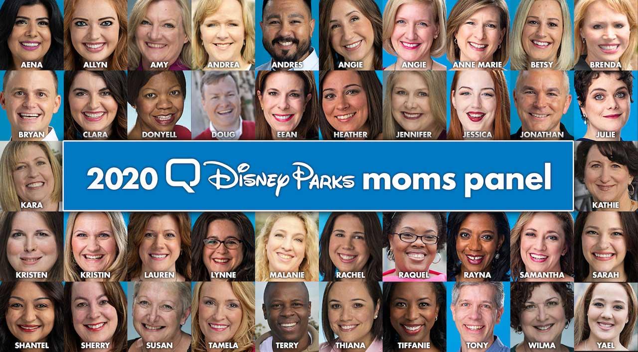 Disney Moms Panel Panelists 2020
