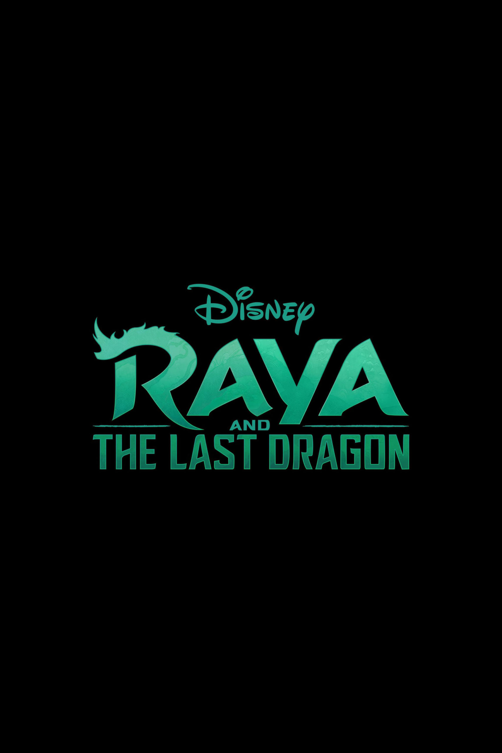 Raya And The Last Dragon Title Movie Poster