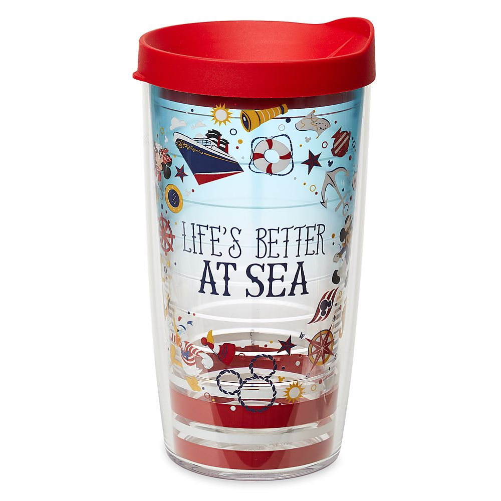 ShopDisney DCL Captain Mickey Mouse And Friends Tervis Tumbler