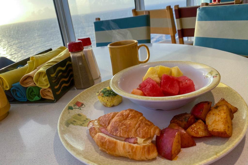 Cabanas Breakfast