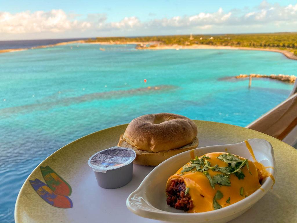 Cabanas Breakfast Castaway Cay