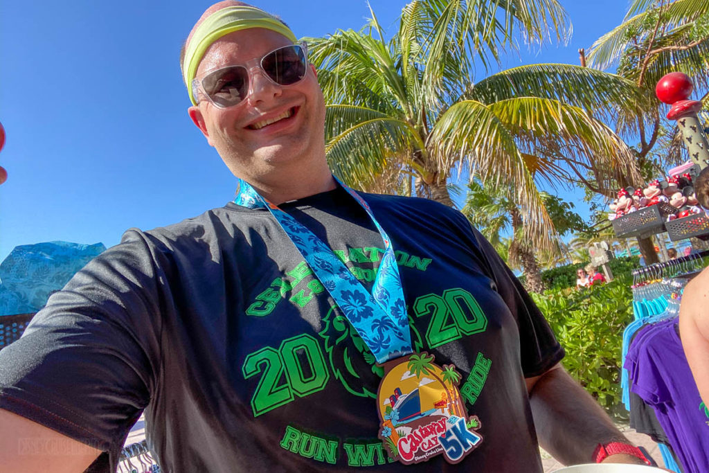 Castaway Cay 5k Trot With Scott