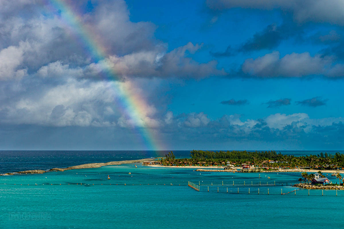 Castaway Cay Welcome Rainbow