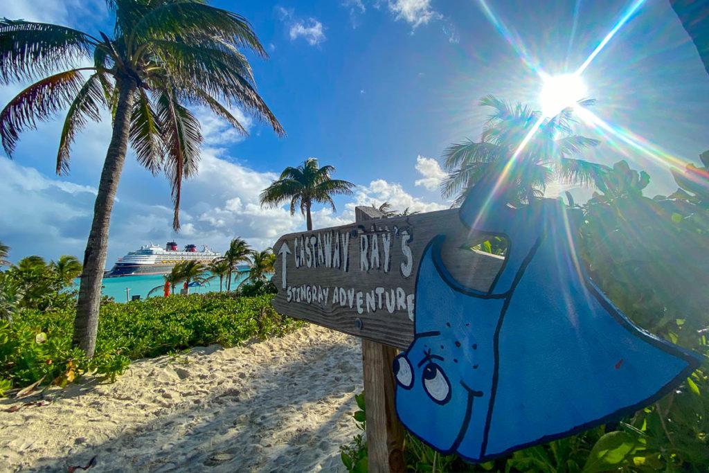 Castway Cay Castaway Rays Stingray Adventure Magic