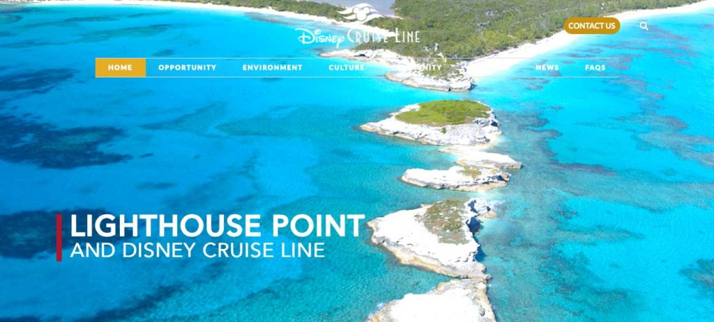 DCL Lighthouse Point Bahamas Website 20200129