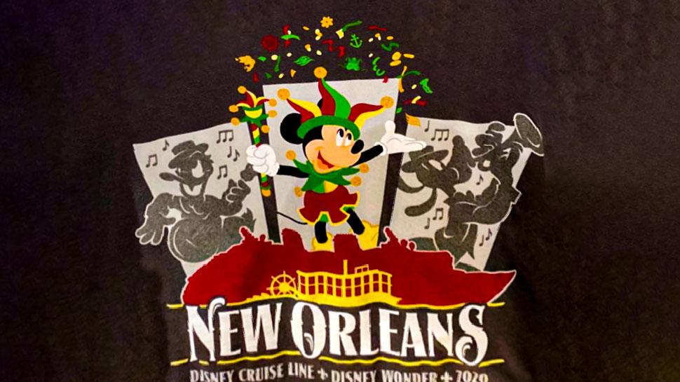 DCL Wonder New Orleans 2020 Merchandise Logo
