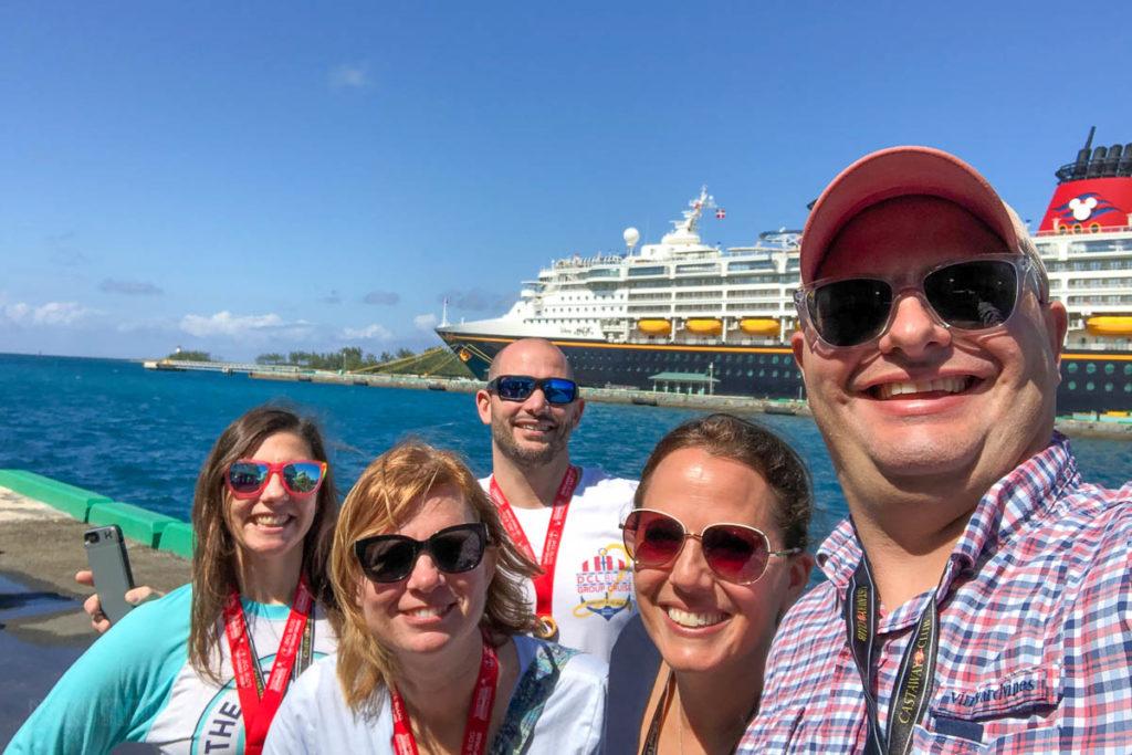 Disney Magic Nassau Group Photo