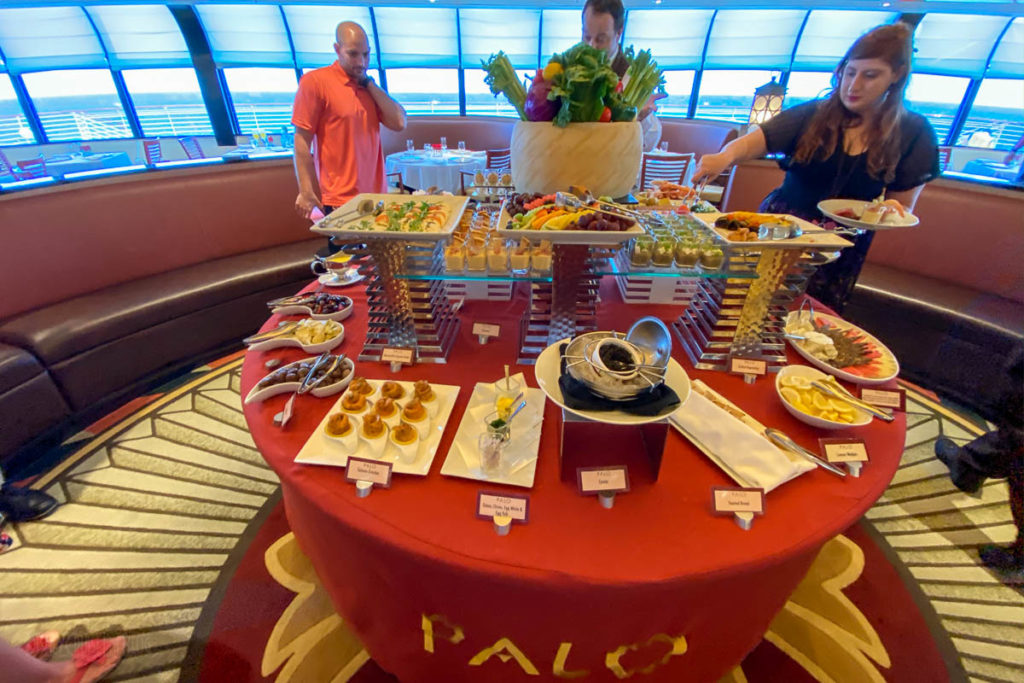 Disney Magic Palo Brunch Buffet