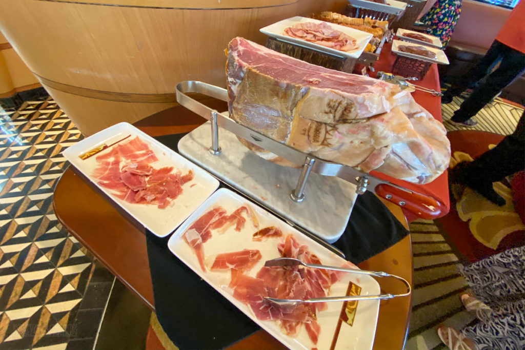 Disney Magic Palo Brunch Charcuterie
