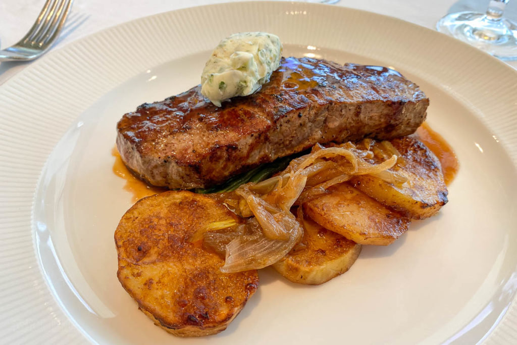 Disney Magic Palo Brunch Grilled Cut Sirloin Steak