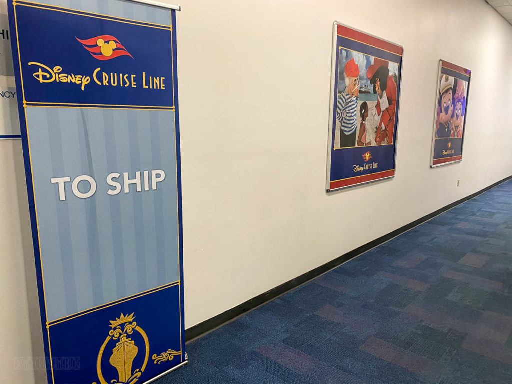 Disney Magic PortMiami Terminal To Ship