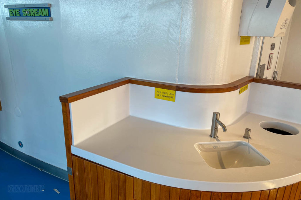 Disney Magic Quick Service Hand Washing Stations