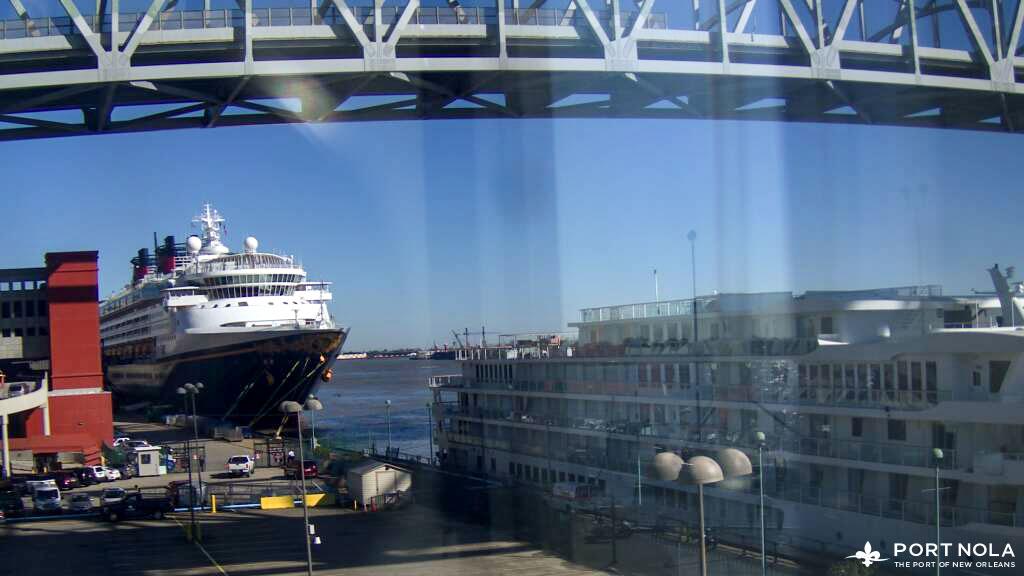 Disney Wonder Port Of New Orleans Webcam 20200207