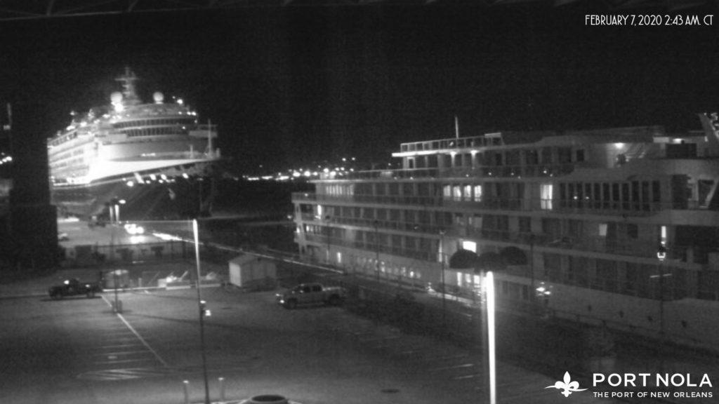 Disney Wonder Port Of New Orleans Webcam 202002070243AMCT