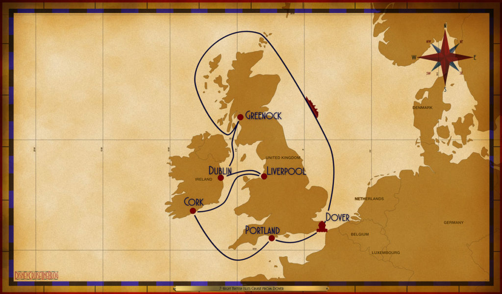 Map Magic 7 Night British Isles DVR SEA GRK DUB LVP ORK PTL
