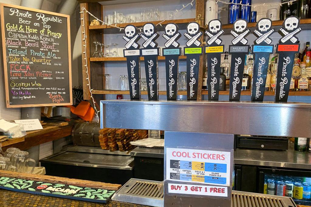 Pirate Republic Brewery Nassau