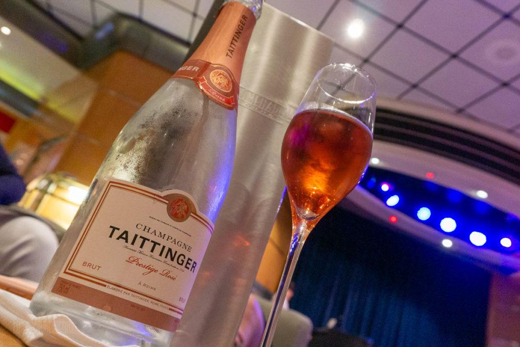 Promenade Lounge Sommlier Bin Taittinger Rose