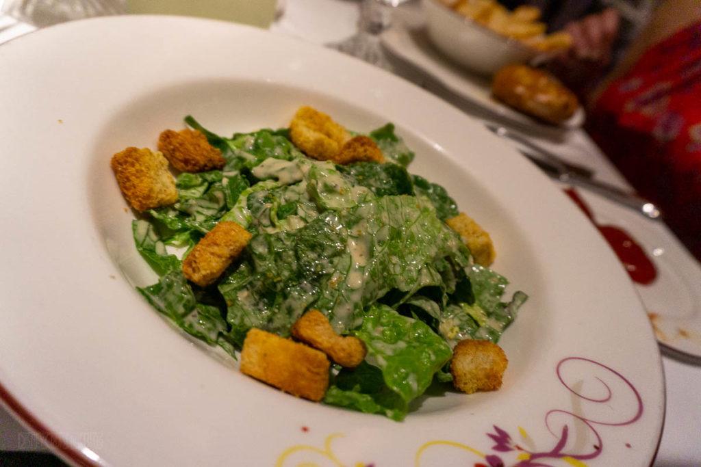 Rapunzel's Royal Table Ceasar Salad