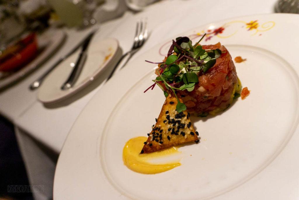 Rapunzel's Royal Table Tuna Tartar