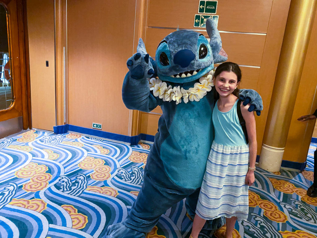 Stitch Meet Greet Isabelle
