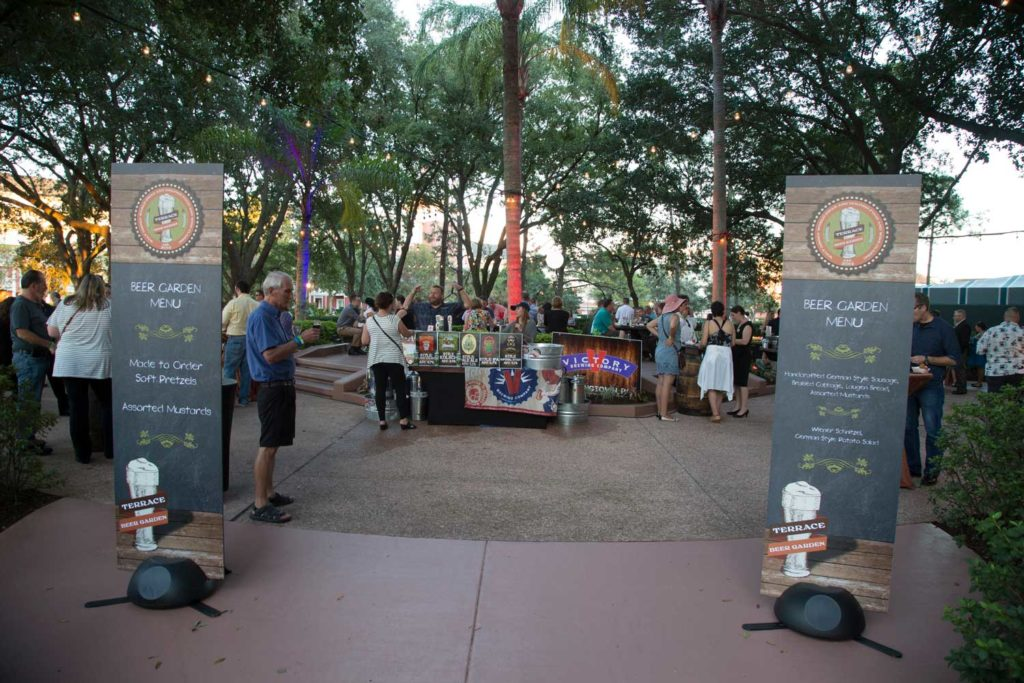 WDW Swan Dolphin Food Wine Classic Beer Garden