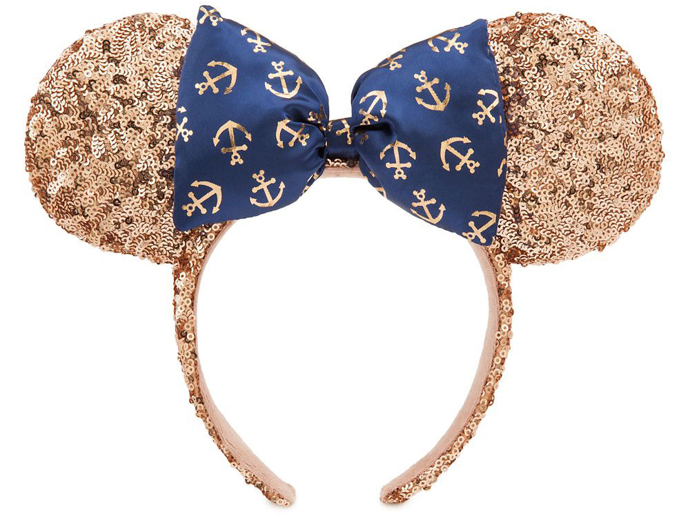 ShopDisney Minnie Mouse Rose Gold Ear Headband