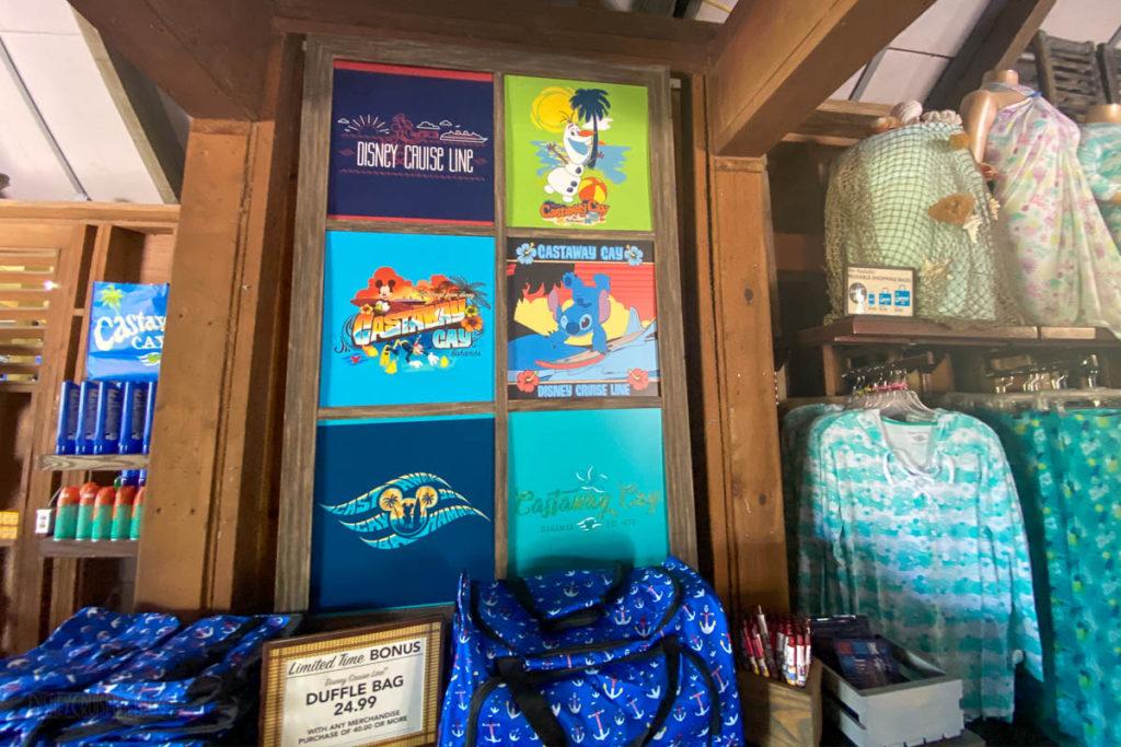 Castaway Cay Merchandise February 2020