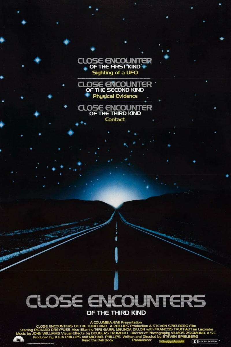 Close Encounters Of A Third Kind Movie Poster