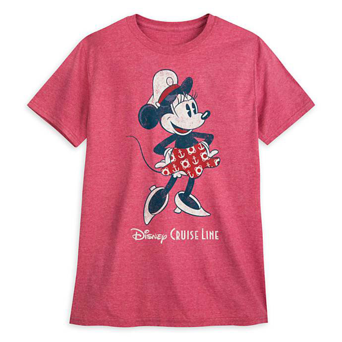 DCL ShopDisney Captain Minnie Mouse Shirt