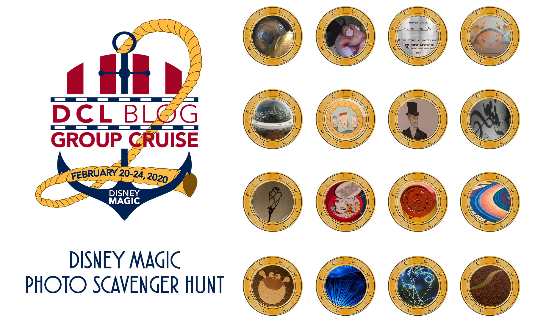 Disney Magic Photo Scavenger Hunt