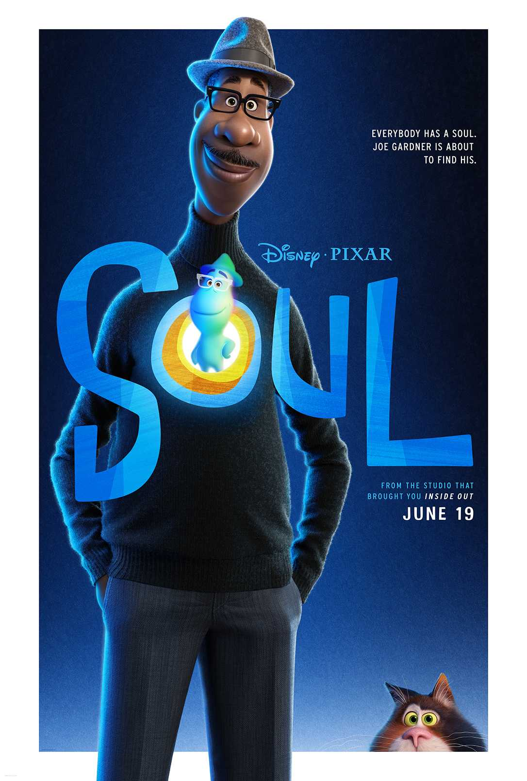 Soul Pixar Movie Poster