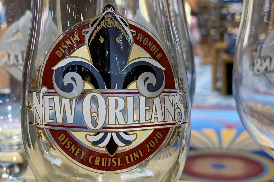 Wonder New Orleans 2020 Merchandise Hurricane Glass