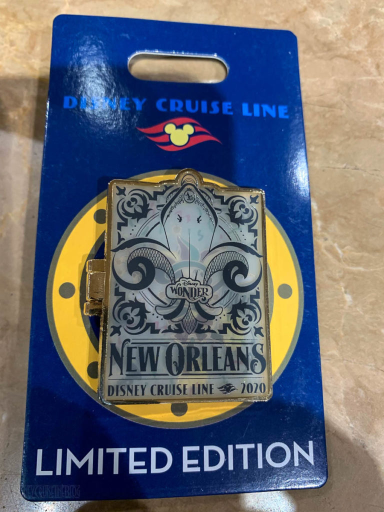 Wonder New Orleans 2020 Merchandise Jester Mickey Pin