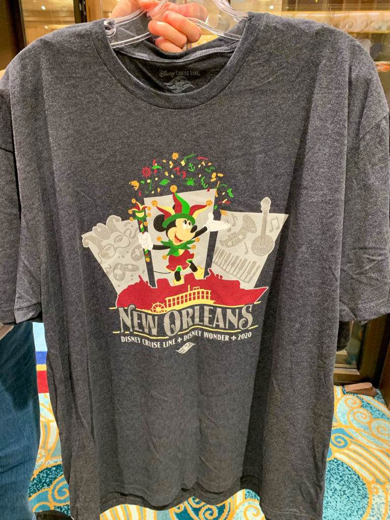 Wonder New Orleans 2020 Merchandise Jester Mickey Shirt