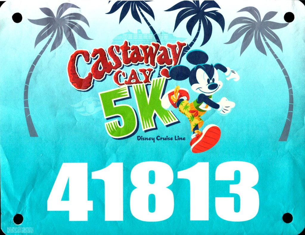 Castawy Cay 5k Bib 2020