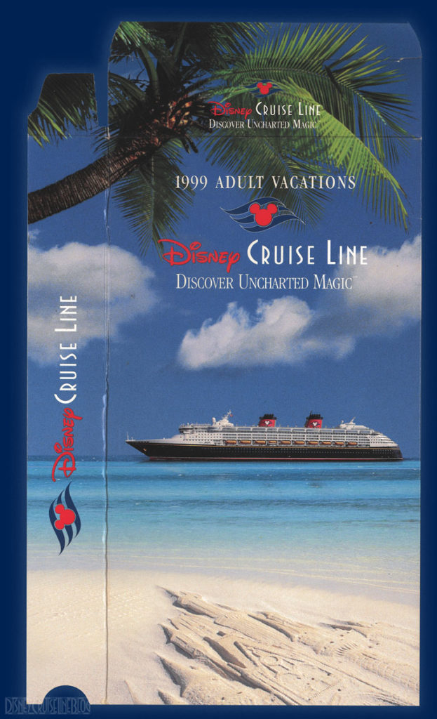 DCL 1999 Adult Vacations Promotional Video VHS Slipcase Front