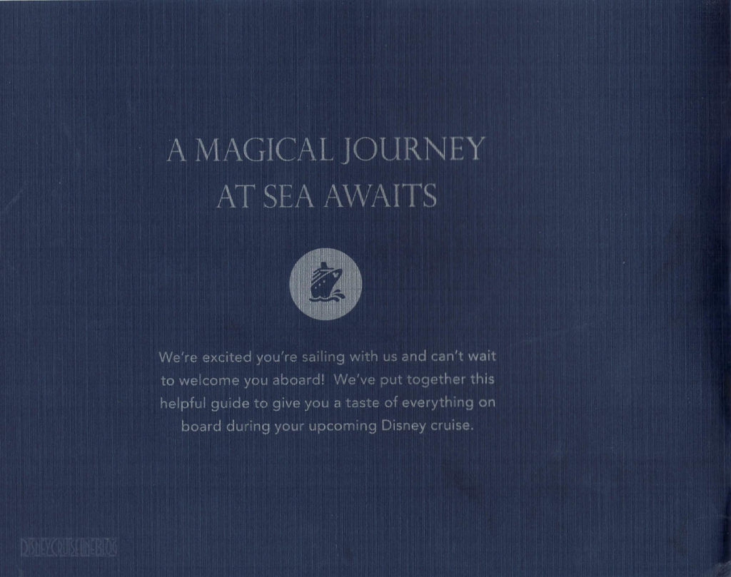 DCL Pre Arrival Booklet Fantasy 2