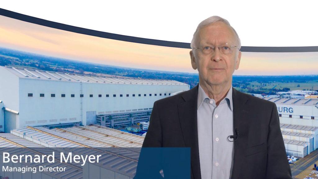 Meyer Werft Managing Director Bernard Meyer