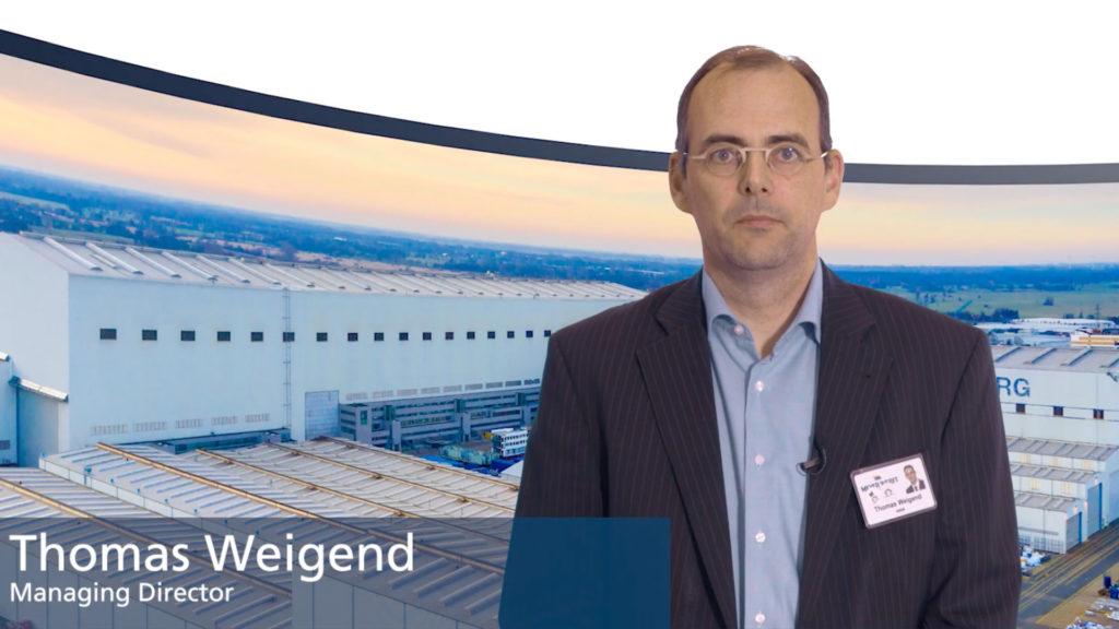 Meyer Werft Managing Director Thomas Weigend