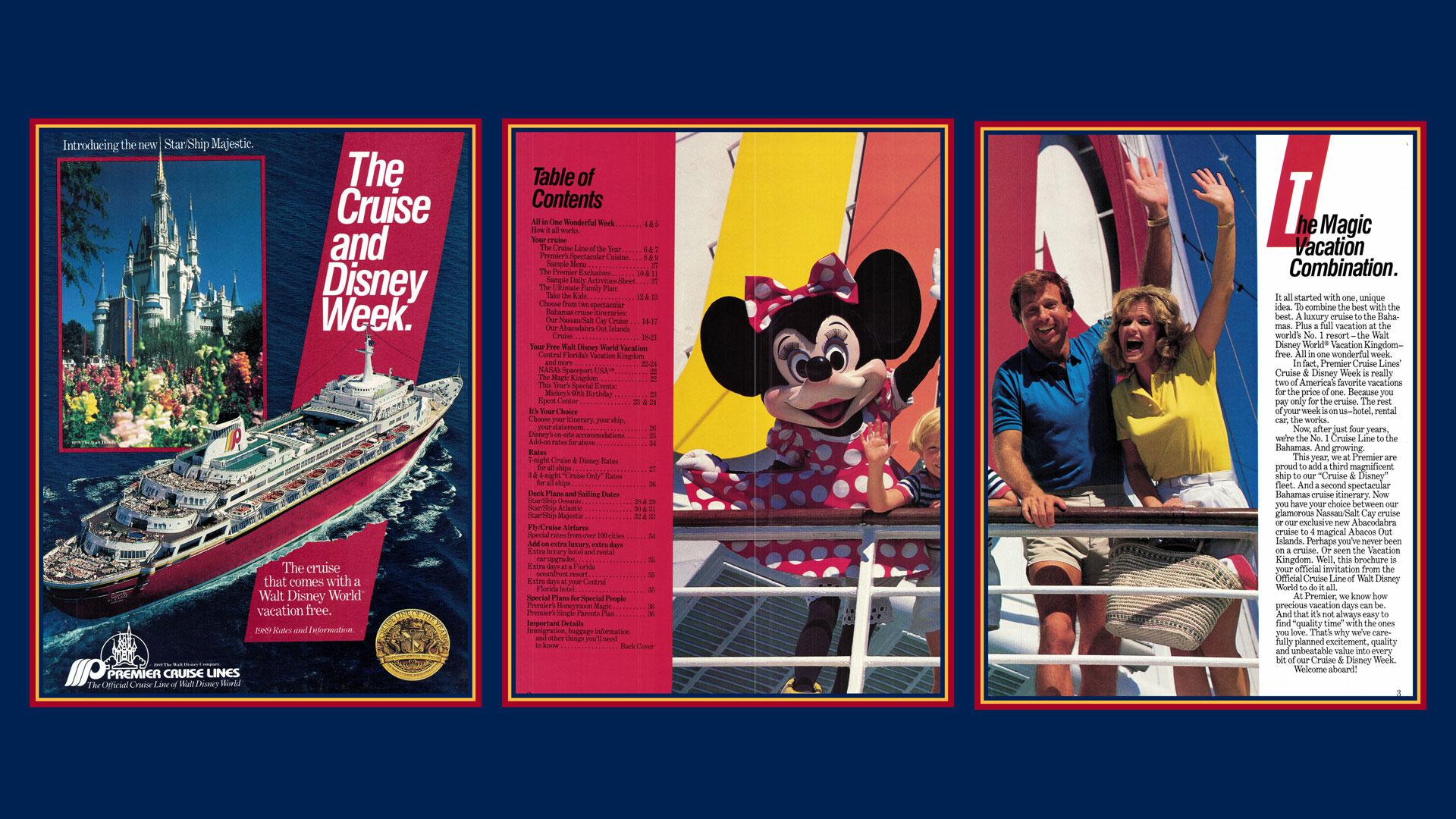 Premier Cruise Line Booklet 1989 Rates Information