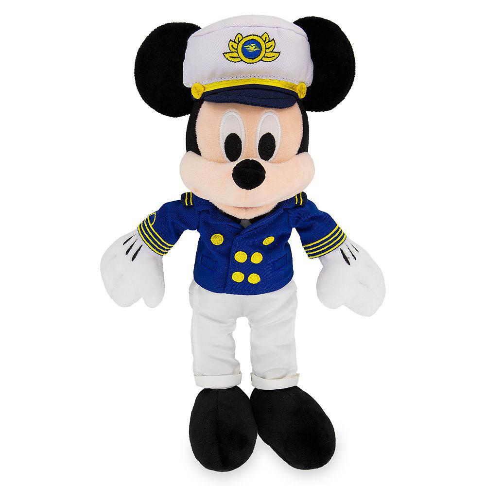 ShopDisney DCL Captain Mickey 17 Plush