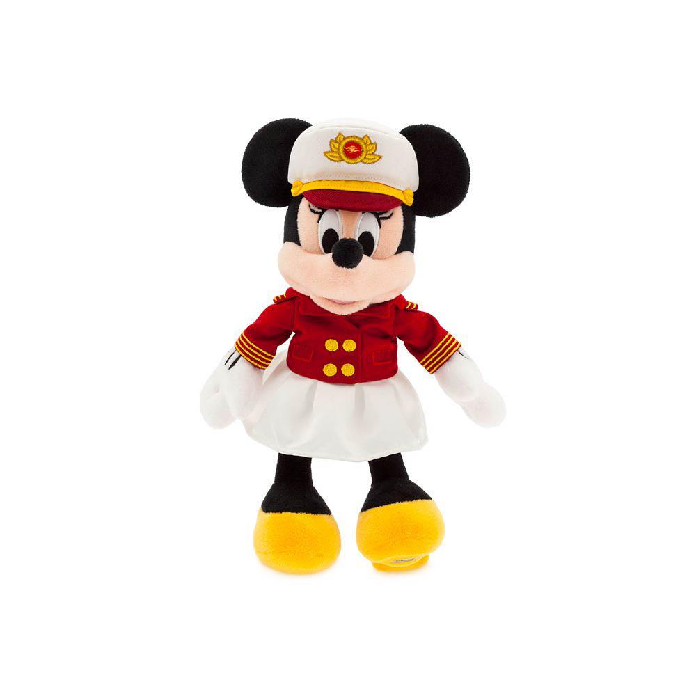 ShopDisney DCL Captain Minnie 11 Plush