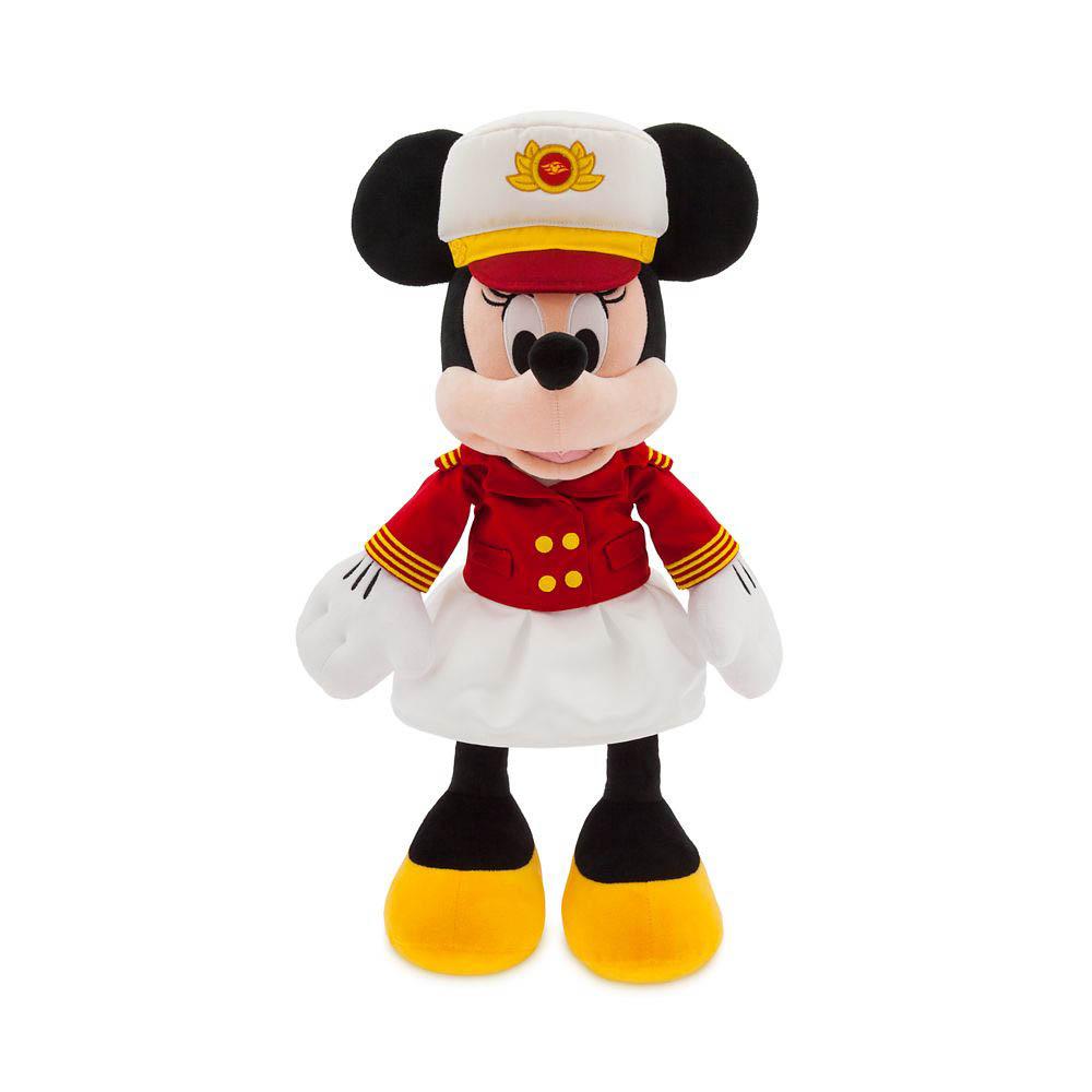 ShopDisney DCL Captain Minnie 18 Plush