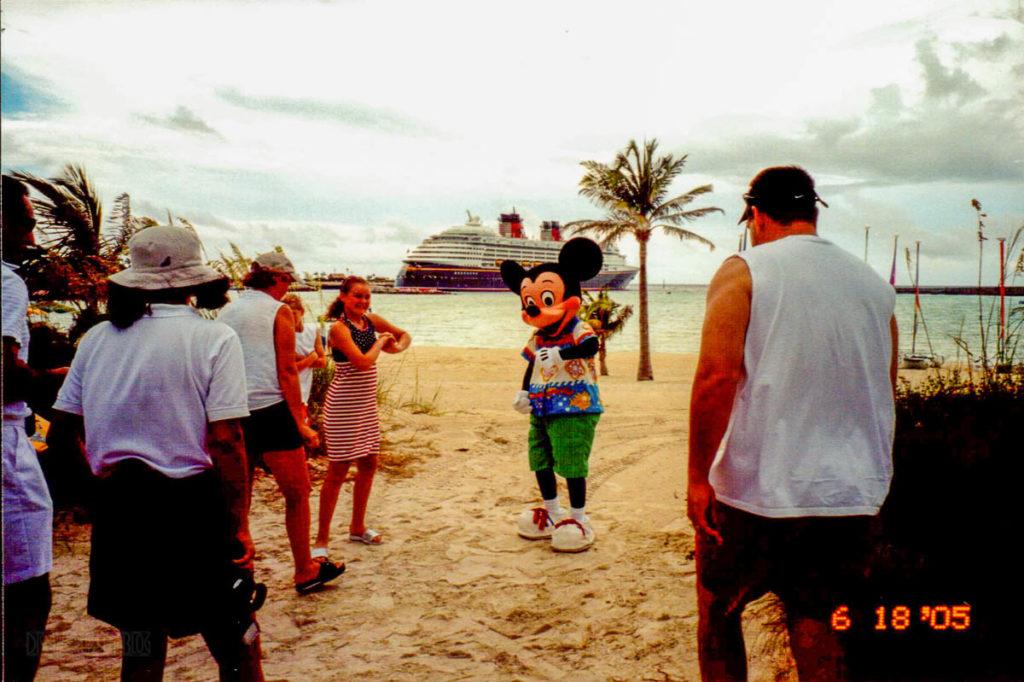 Castaway Cay Island Mickey