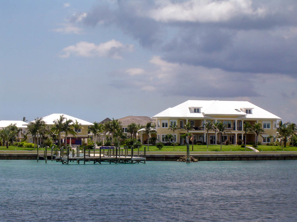 Michael Jordan's Paradise Island House