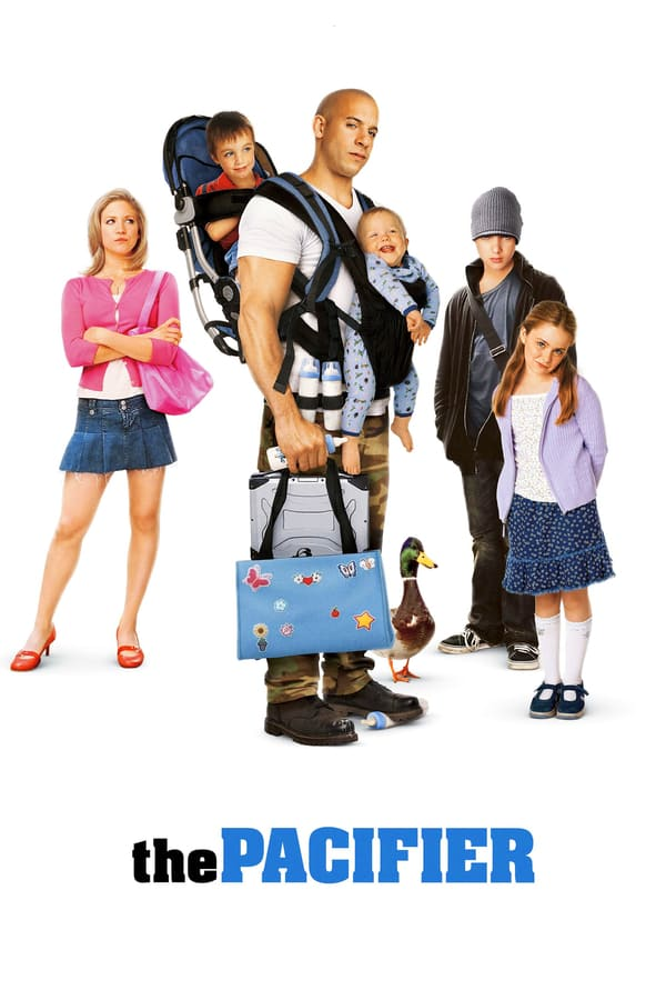 The Pacifier Movie Poster
