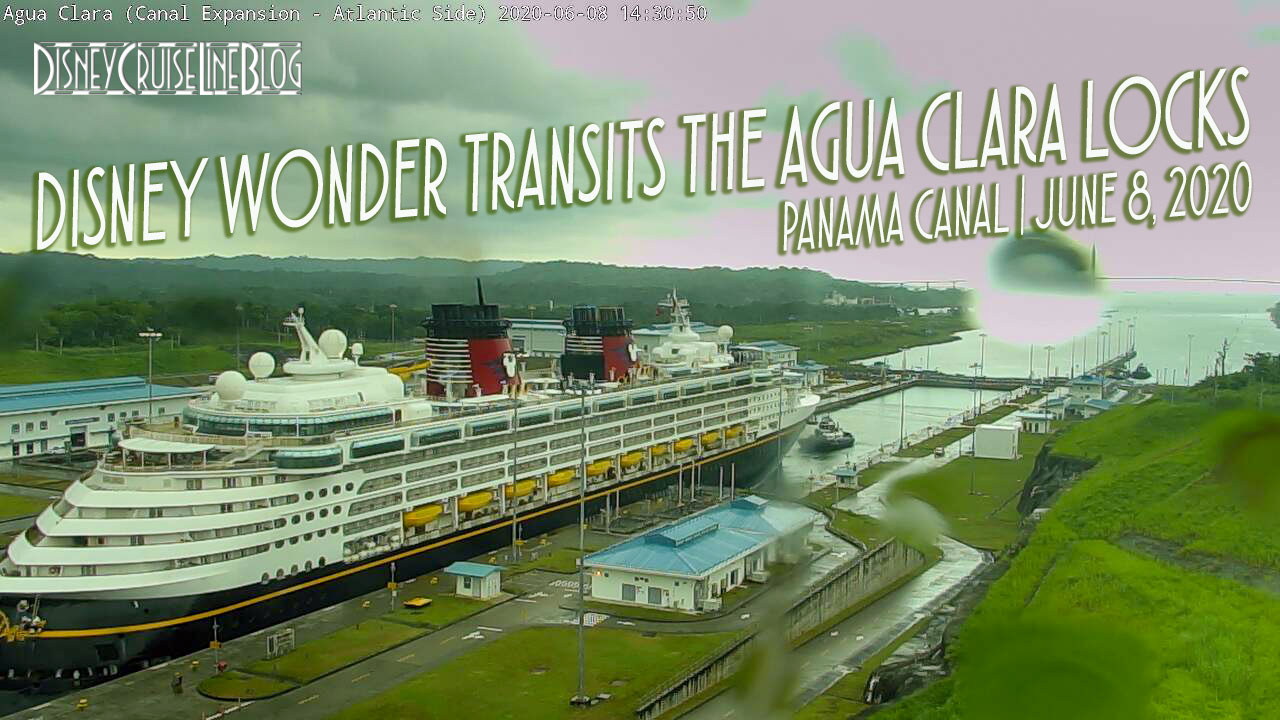 Disney Wonder Panama Canal Agua Clara Locks