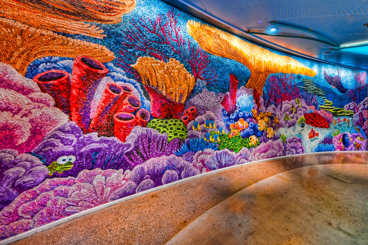 Finding Nemo Mosaic | Disney Dream Cabanas