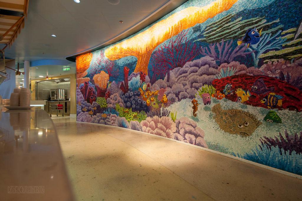 Finding Nemo Mosiac Cabanas Disney Dream