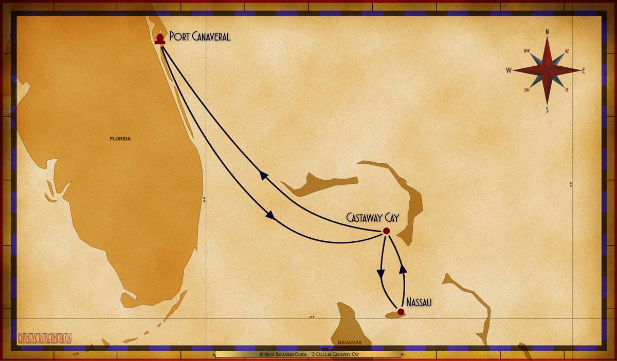 Map Wonder 4 Night Bahamian PCV GOC NAS GOC
